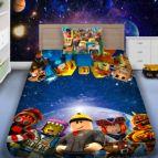 Детско 3D спално бельо - Роблокс