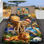Детско 3D спално бельо - Слон