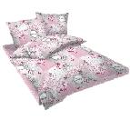 Спално бельо Ретро розово