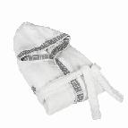 Халат за баня Атина 350гр - бяло