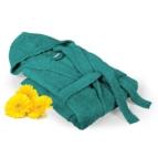 Халат за баня Класик - зелено