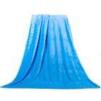 Одеяло Екстра софт - синьо