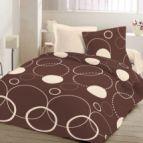 Спално бельо Тристан - кафяв
