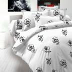Спално бельо памучен сатен - Дантела II