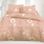Семеен спален комплект памучен сатен - Фелисити