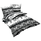Спално бельо памучен сатен - Одета