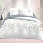 Спално бельо памучен сатен - Виктория Бяла