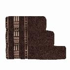 Хавлиени кърпи Атина 450 гр - кафяво