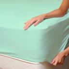 Чаршаф с ластик от Трико - зелен