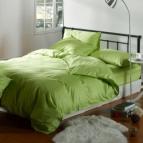 Едноцветно спално бельо - Зелено