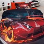 Спално бельо 3D - Fever