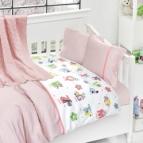Бебешко спално бельо-Бамбук и одеяло - Животни