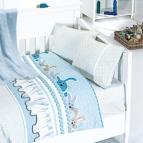 Бебешко спално бельо-Бамбук и одеяло - Джини