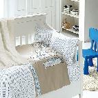 Бебешко спално бельо-Бамбук и одеяло - Палавници