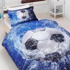 Спално бельо 3D - Bamboo Football
