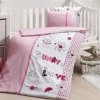 Бебешко спално бельо-Бамбук - Love Bunny