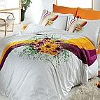 Двоен спален комплект Букет оранж
