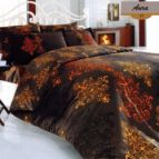 Спално бельо Аура - Оранжев