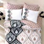 Спално бельо Барок - Кафяв
