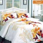 Спално бельо Тювал - Оранжев