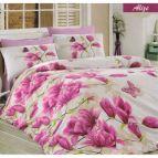 Спално бельо Ализе - циклама