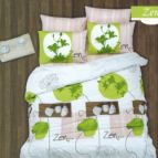 Спално бельо Дзен - Зелен
