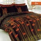 Спално бельо Ева - Оранжев