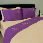Спален комплект с бродерия - Стълба II