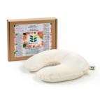 Възглавница за път с растителен пълнеж био лимец обвивки