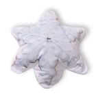 Декоративна възглавница FLEECE 3D - Снежинка
