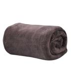 Одеяло микрофибър - кафяв