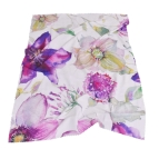Одеяло полар печат - Акварел лила