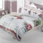3D Спално бельо памучен сатен - ВЕЛОСИПЕД