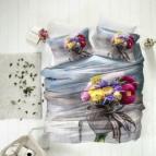 3D Спално бельо памучен сатен - КАЙЛИ