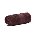 Хавлиени кърпи Диана - тъмно кафяво