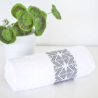 Хавлиени кърпи Ева - бяло