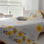Покривало за легло микрофибър щампа + възглавница