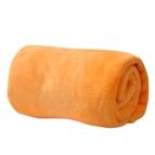 Одеяло микрофибър - жълт