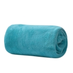 Одеяло микрофибър - тюркоаз