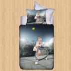 Спално бельо 3D - Sport