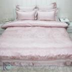 Луксозно спално бельо с дантела КАЛИОПА пудра