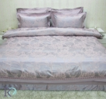Луксозно спално бельо с дантела Калиопа роз лила