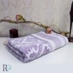 Хавлиени кърпи Хана - жакард лила