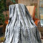 Одеяло Бриз черно варен ефект