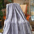 Одеяло Бриз лилаво варен ефект