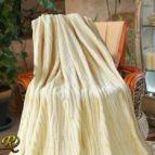 Одеяло Бриз жълто варен ефект