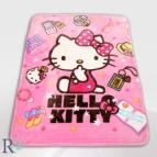 Бебешко одеяло - Hello Kitty