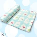 Бебешко одеяло - аква на слончета