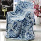 Одеяло Валенсия - синя