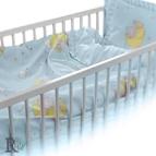 Бебешко спално бельо - Слонче в синьо